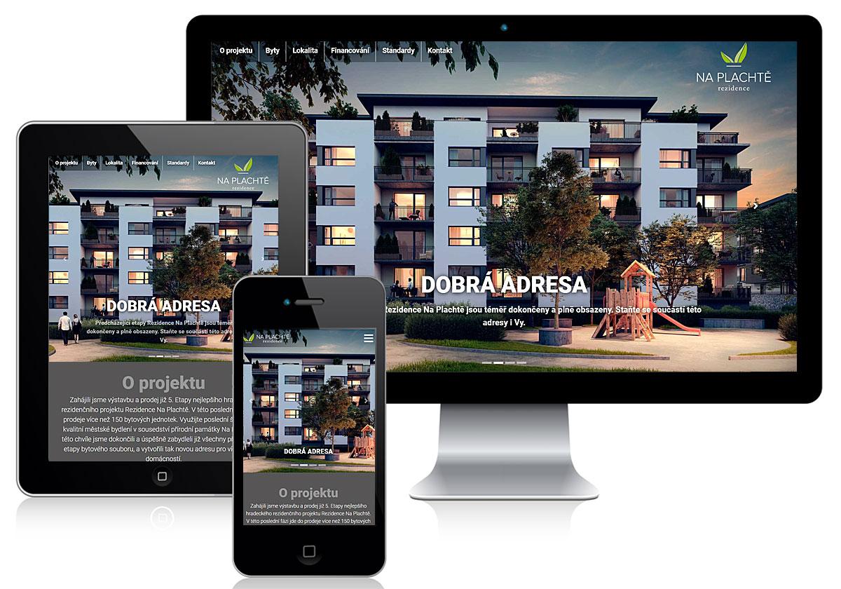 Rezidence na Plachtě - foto projektu